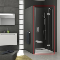 Дверь душевая распашная в нишу 100х190 см правая Ravak Smartline SMSD2-100 A R 0SPAAA00Z1 фото