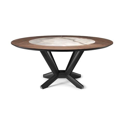 Обеденный стол planer ker-wood round, Италия