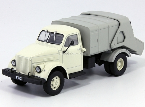 GAZ-51A 93M Garbage Disposal truck 1:43 DeAgostini Service Vehicle #54