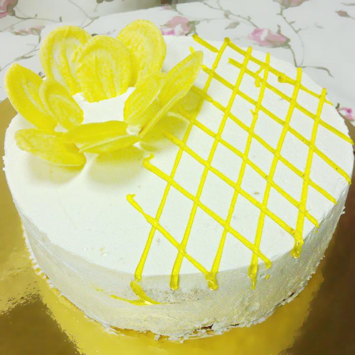 Торт с бананом