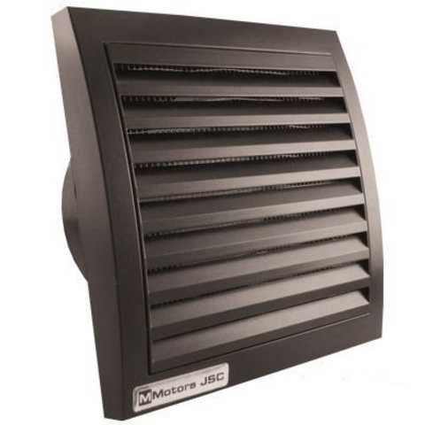 Накладной вентилятор MMotors JSC МM-100 Черный Квадратный