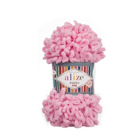 Купить Пряжа Ализе Пуффи Файн Код цвета 039 | Интернет-магазин пряжи «Пряха»