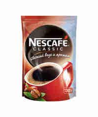 Nescafe CLASSIC  мягкая упаковка 60г