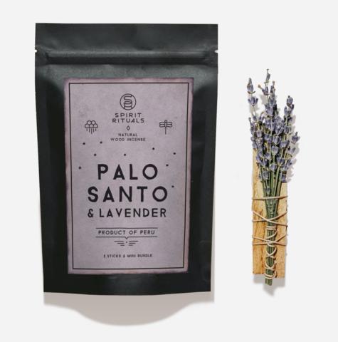 Комплект Пало Санто с Лавандой