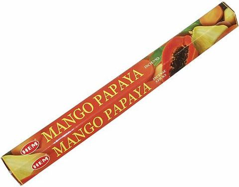 Индийские палочки HEM Mango Papaya