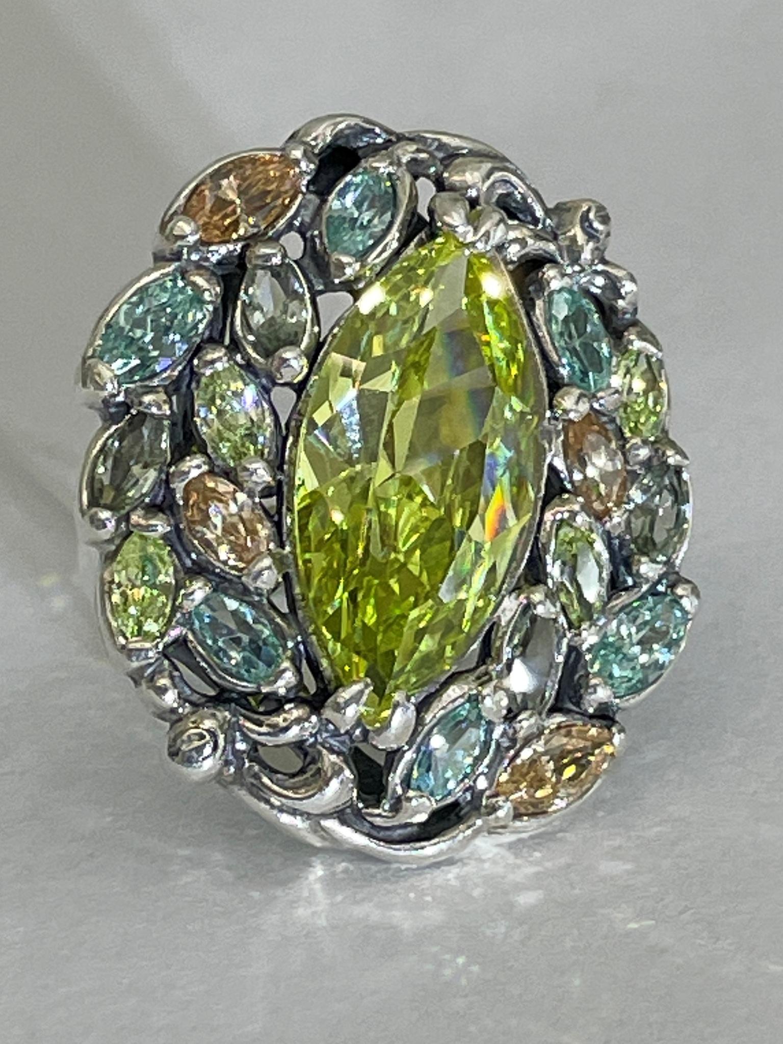Ирий (кольцо  из серебра)
