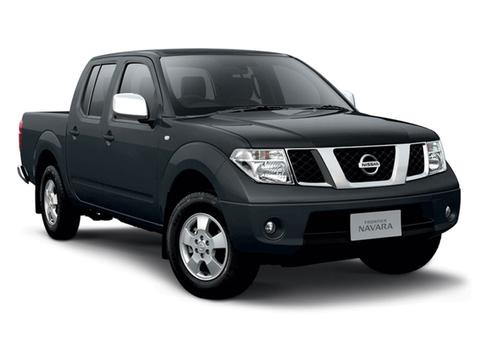Nissan Navara Cargo-версия с пневмоподвеской