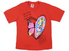 937-10 футболка детская, красная
