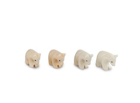 Медведь из оникса малый (5,5х4х2 см). Интернет магазин чая