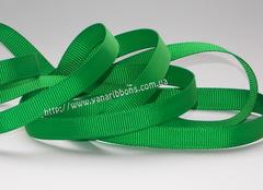 Лента репсовая зеленая ширина 6, 9, 22, 38 и 56 мм