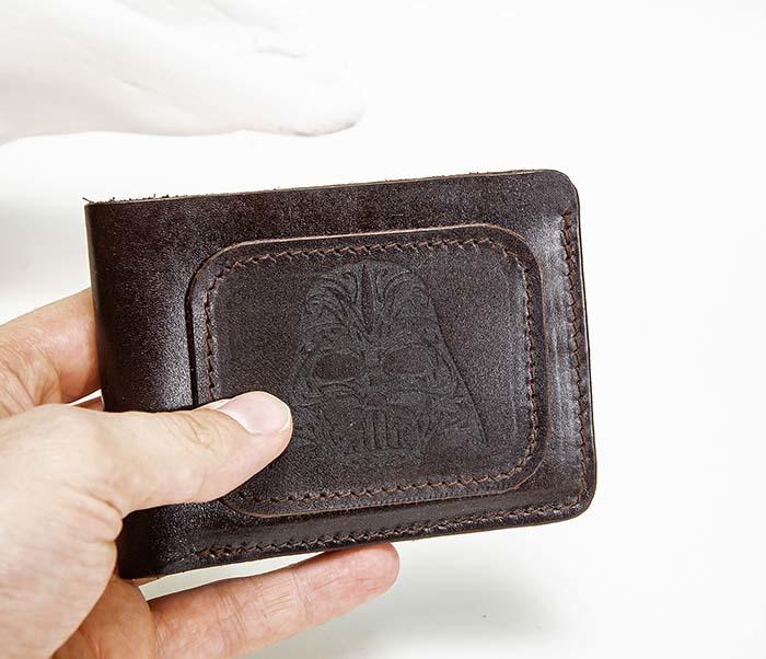 WB193-2 Мужской кошелек с изображением Дарта Вейдера, «Boroda Design» фото 02