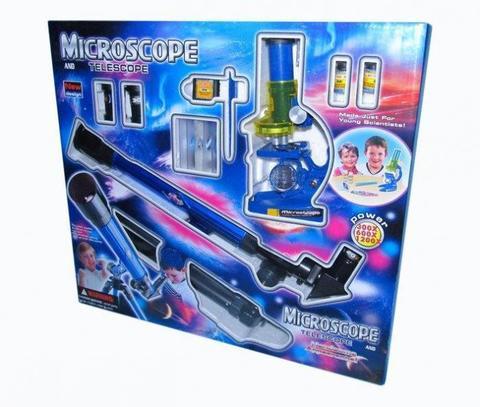 Next Микроскоп с аксессуарами + телескоп CQ-031
