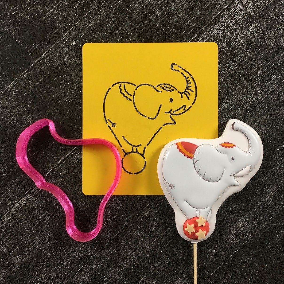 Цирк №4 Слон