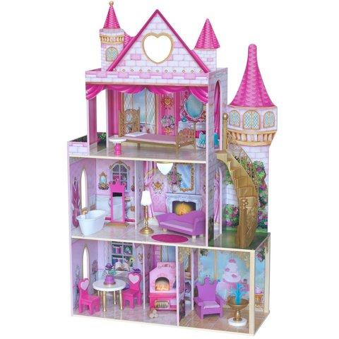 KidKraft Замок Розовый сад - кукольный домик с мебелью 10117_KE