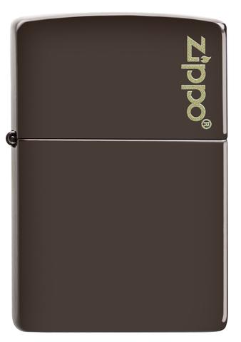 Зажигалка коричневая Brown Matte ZIPPO 49180ZL