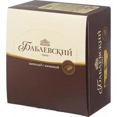 Шоколад Бабаевский с помадно-сливочной начинкой, 20шт х 50г