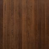 Паркетная доска Поларвуд Дуб Протей (Protey) однополосная, темно-коричневый лак