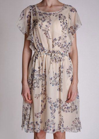 <p>Платье из шелка</p> LES COPAINS