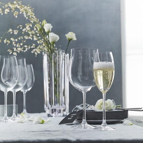Набор из 4-х бокалов для шампанского Champagne Flute 272 мл, артикул 85695. Серия Vivendi Premium