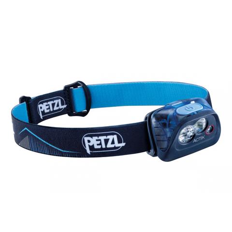 Фонарь светодиодный налобный Petzl Actik синий, 350 лм