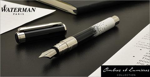 *Перьевая ручка PERSPECTIVE OMBRES ET LUMIERES, цвет: OMLUM CT, F BLU GB123