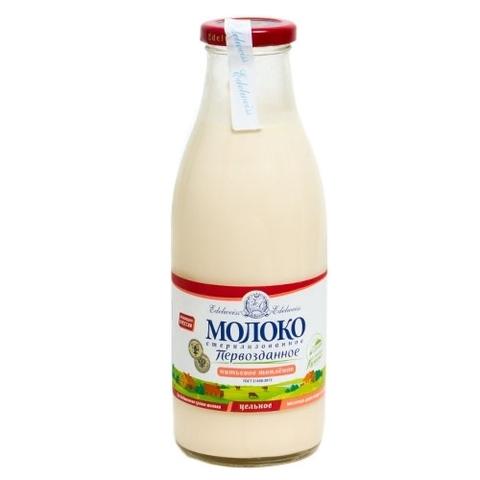 Молоко Первозданное цельное 3.5% стерилка ИП