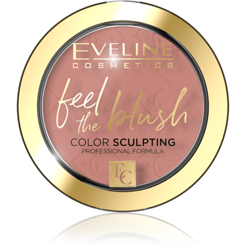 EVELINE FEEL THE BLUSH Румяна для лица 04-TEA ROSE (*3*36)