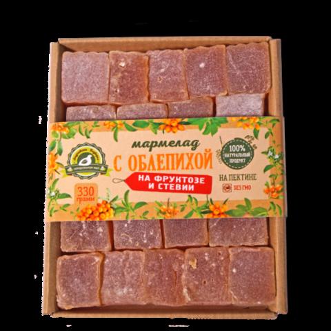 Мармелад с облепихой без сахара, 330 гр. (Андреевское Подворье)