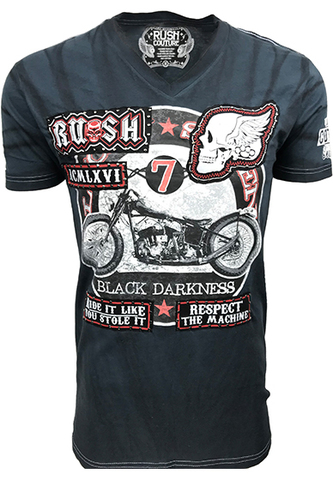Футболка Black Darkness Rush Couture. Made in USA