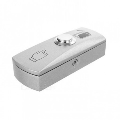 Exit-805D Накладная кнопка (светло-серый) ATIS