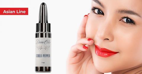 Пигменты для губ DemiColor Asian Line — Chilli Pepper (Ярко красный) 7мл