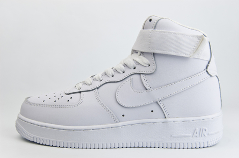 кроссовки Nike Air Force 1 Mid Triple White