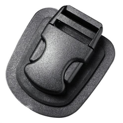 Фастекс Сплав на подложке 25 мм 1-06358/1-20157 (2 части) одна регулировка черный