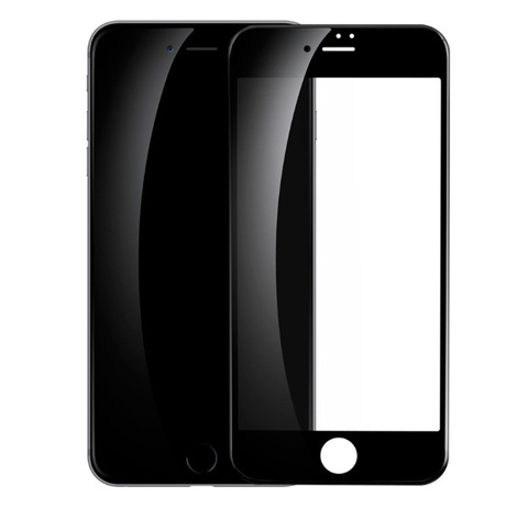 Защитное 3D-стекло Premium Glass для iPhone 7/8 Plus Black - Черное