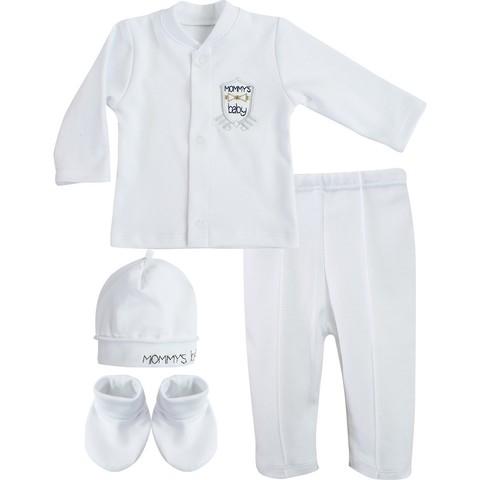 Комплект нарядный для мальчика Mom's boy белый
