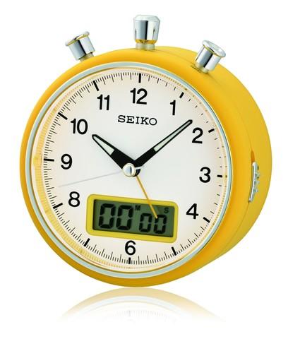 Настольные часы -будильник Seiko QHE114EN