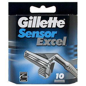 Кассеты Sensor Excel 10 шт