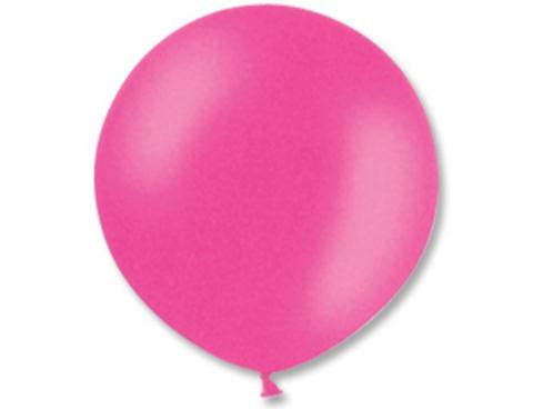 Большой воздушный шар фуксия
