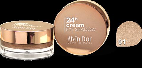 Alvin D`or AES-15 Тени для век 24h Cream EyeShadow (тон 01)