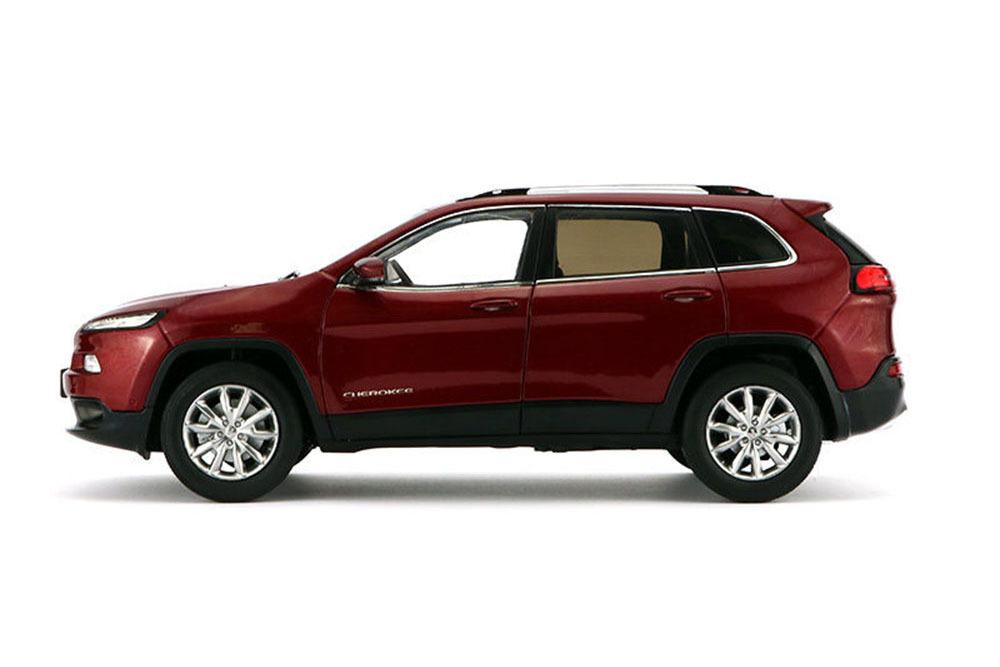 Коллекционная модель Jeep Cherokee Red 2015