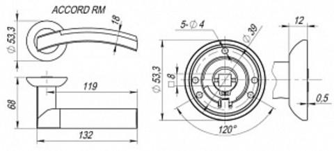 ACCORD RM SN/CP-3 Схема