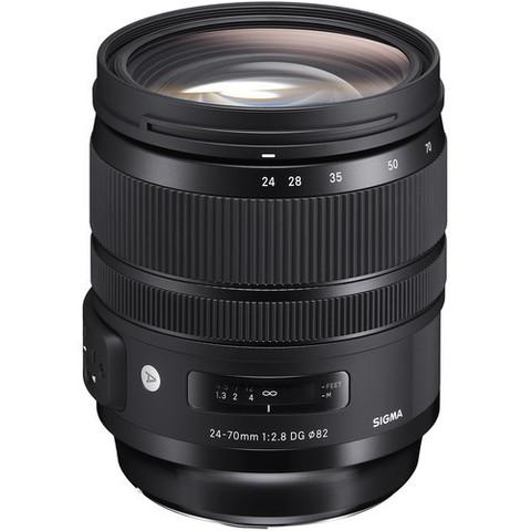 Объектив Sigma AF 24-70mm f/2.8 DG OS HSM Art для Canon EF
