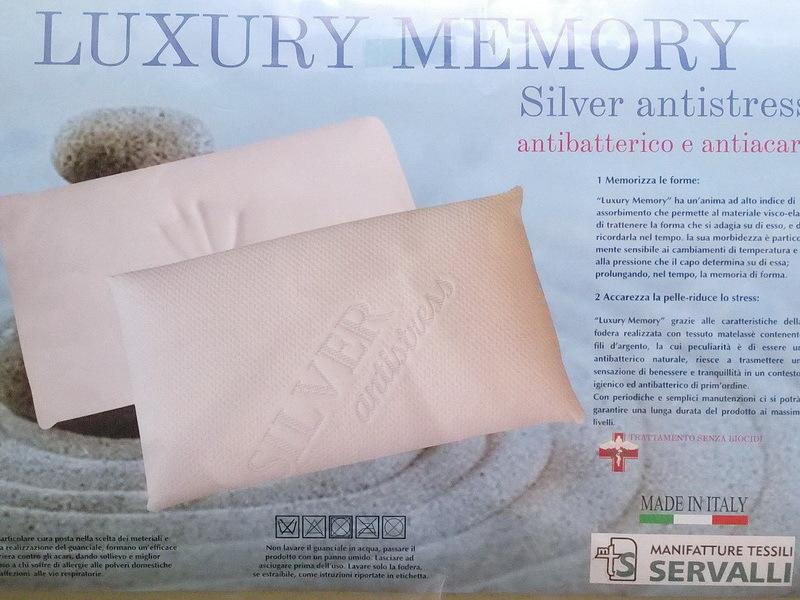 Подушка Luxory Silver