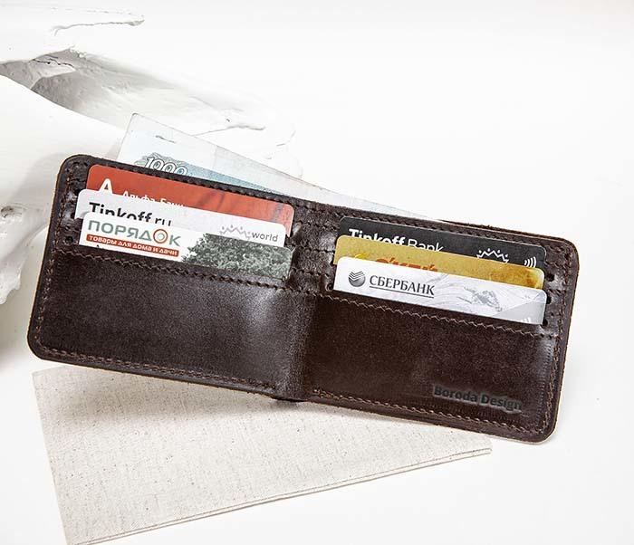 WB193-2 Мужской кошелек с изображением Дарта Вейдера, «Boroda Design» фото 07