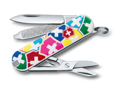 Нож-брелок Victorinox Classic, 58 мм, 7 функций,