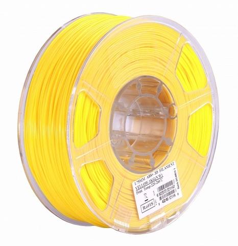 ESUN ABS+ 1.75 мм, 1 кг, желтый