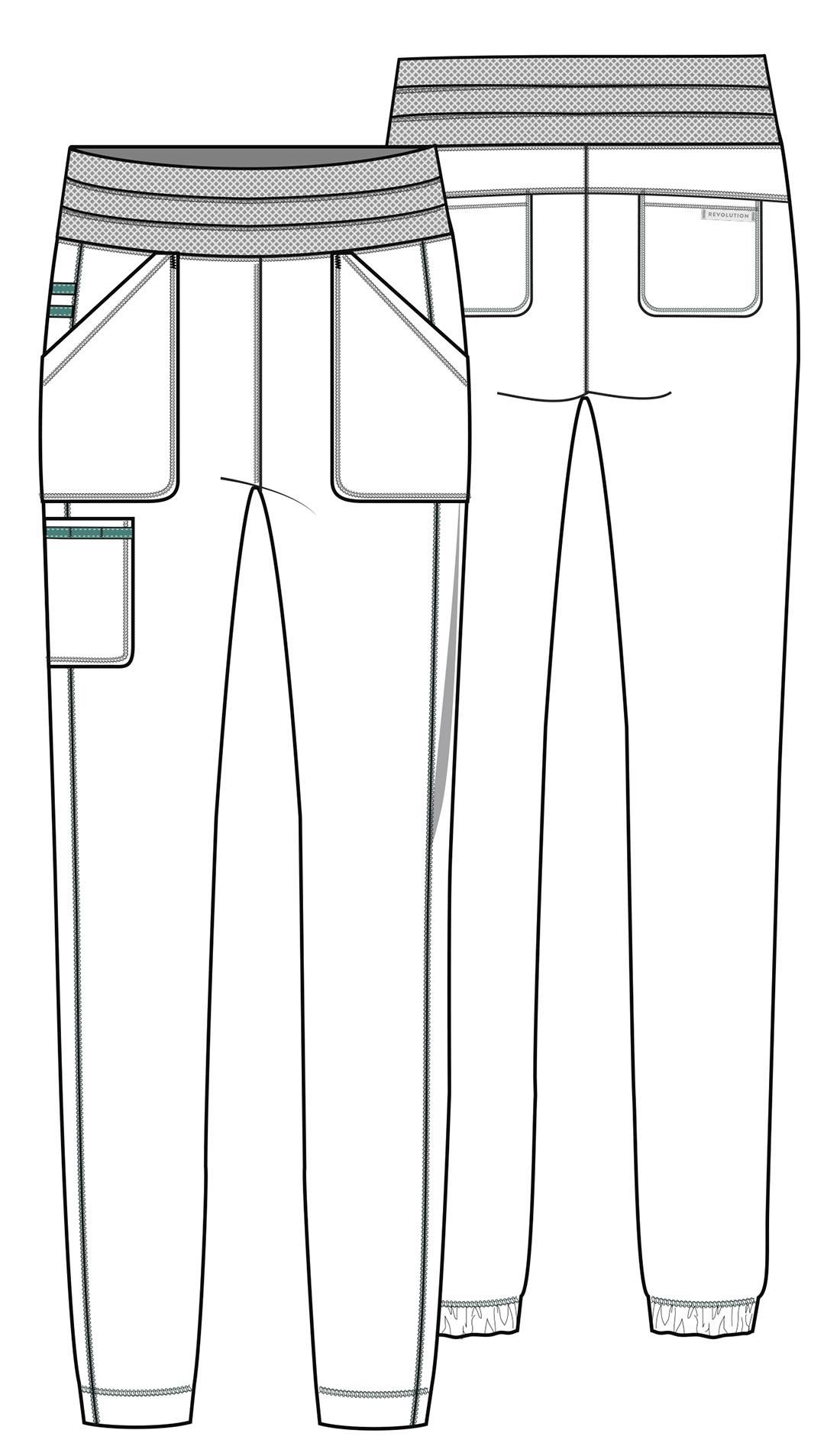 Медицинские брюки джоггеры на высокий рост Cherokee WW Revolution