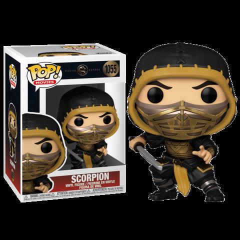 Funko POP! Movies Mortal Kombat Scorpion || Скорпион