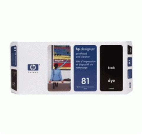 печатающая головка HP 81 Black
