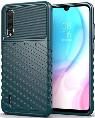 Чехол для Xiaomi Mi A3 (CC9E) цвет Green (зеленый), серия Onyx от Caseport